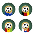 Soccer Cup Group composition vector image vector image