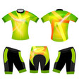 translucent colors sports t-shirt vector image vector image