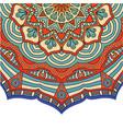 vintage mandala design image vector image