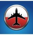 Air flight vector image vector image