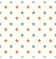 american stars seamless background vector image