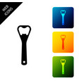 bottle opener icon isolated on white background vector image vector image