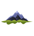 mountains landscape rocks or heels nature camping vector image