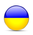 National flag of Ukraine isolated vector image