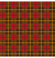 Scottish plaid pattern seamless vector image vector image