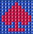 tile seamless spades vector image