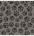 Seamless pattern background with abstract animal vector image