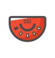 black jack table icon cartoon vector image