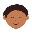 boy kid child smiling vector image