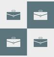 case icon simple vector image vector image