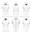 collection men sport clothes vector image vector image