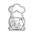 cute kid icon vector image vector image