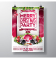 graphic 157 christmasparty 08 vector image vector image