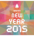 Happy new year 2015 greeting card5 vector image vector image
