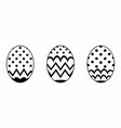 isolated easter egg vector image vector image