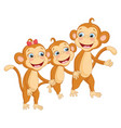 of cartoon animal vector image vector image
