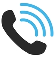 Phone Call Flat Pictogram vector image