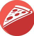 Pizza Icon vector image vector image