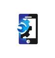 repair phone logo design inspiration vector image vector image