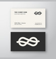 the eight knot infinity sign abstract logo vector image