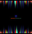 abstract vibrant stripe lighting vertical lines vector image