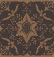 damask seamless pattern element vector image vector image