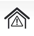 danger icon vector image vector image