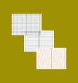 flat icon on stylish background school notebooks vector image vector image