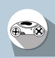 futuristic car with modern elements vector image vector image