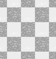 light gray seamless geometric pattern of squares vector image vector image