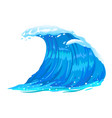 ocean wave isolated vector image vector image