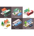 public stop design concept vector image vector image