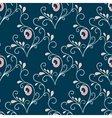 Seamless with vintage floral pattern