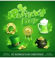 St Patricks Day Set of vector image