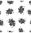 wow comic sound effects seamless pattern vector image vector image
