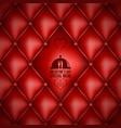 valentines day menu design background vector image