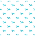 Children plane pattern cartoon style vector image vector image