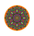 mandala vintage wallpaper vector image