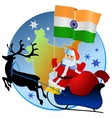 Merry Christmas India vector image vector image