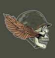 military old design vector image