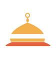ornament ramadan arabic islamic celebration tone vector image