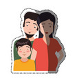 people relationships and family vector image vector image