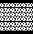 seamlessly repeatable abstract monochrome grid vector image vector image