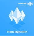 abstract geometric composition 3d pixel art vector image