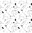 abstract memphis pattern vector image vector image