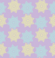Bright colored seamless pattern of openwork stars vector image vector image