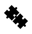 business puzzle jigsaw strategy innovation vector image