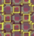 Colored squares abstraction vector image vector image