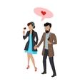 Couple in Love Vecror vector image vector image