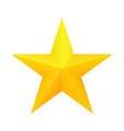 realistic golden star icon